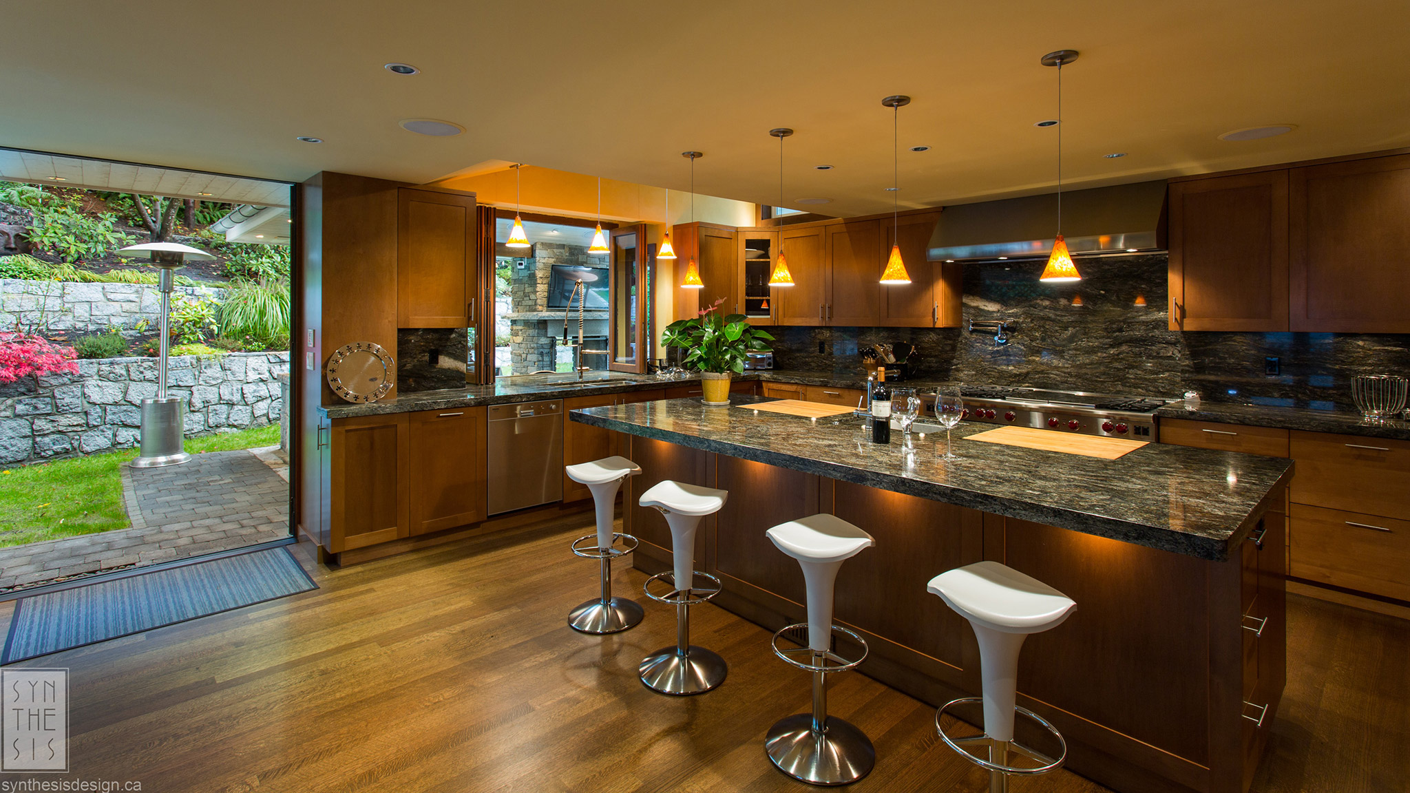 Sauve Residence Vancouver Interior Design Synthesis Design