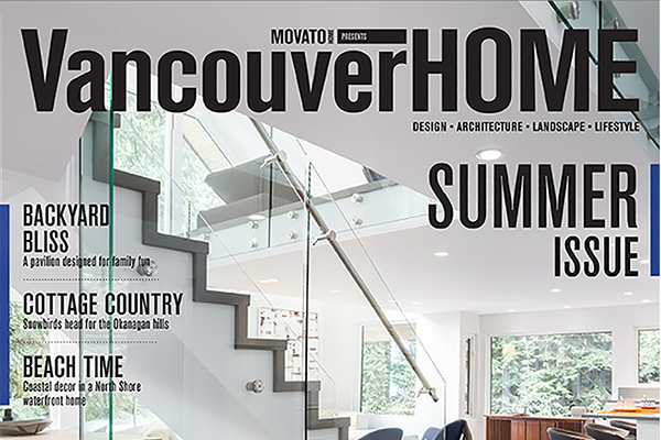 Synthesis design featured in magazine vancouver interior for California home and design magazine
