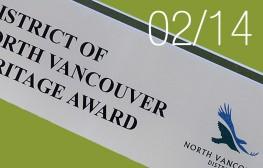 N_Van Heritage Award 2013